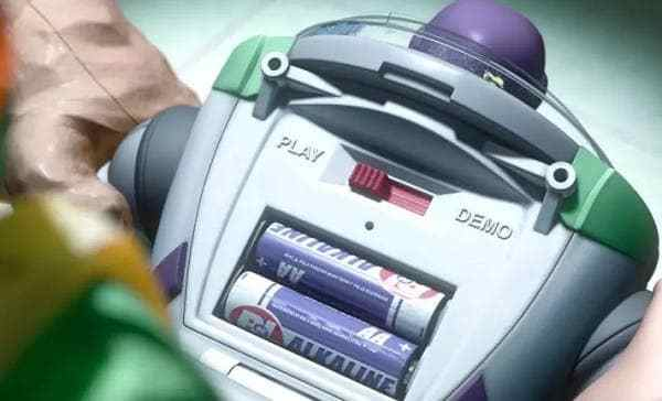 The Batteries in Buzz Lightyear