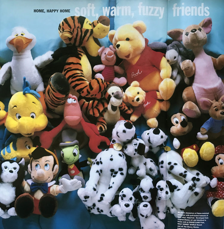 All the Disney Plushes
