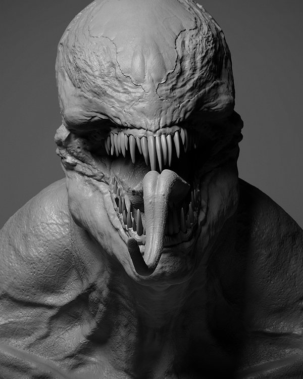 The Creature is an Alien Symbiote
