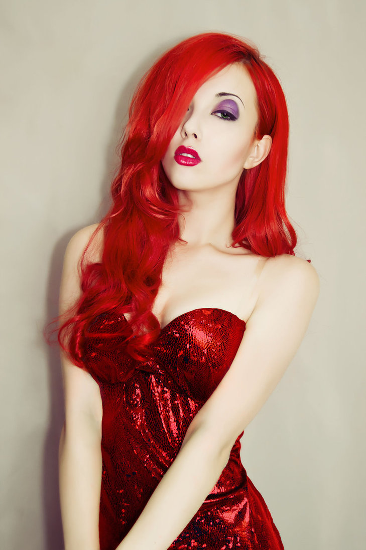 This Jessica Rabbit Has Our Hearts