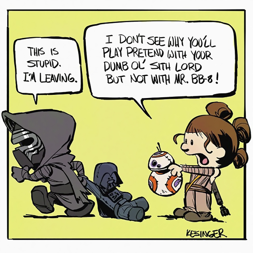 BB-8 Ain't His Game