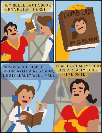 The Too-Literal Gaston