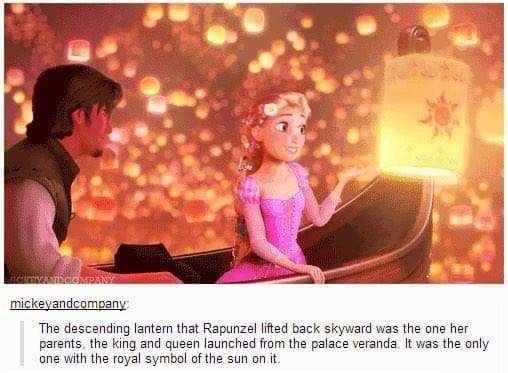 the Lantern That Rapunzel Touches