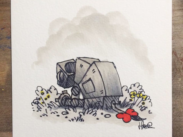 We Want This Cute AT-AT