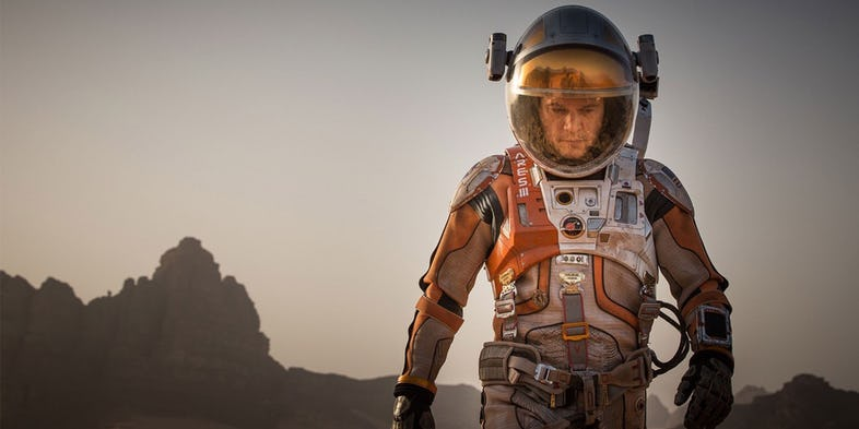 The Martian and Artemis
