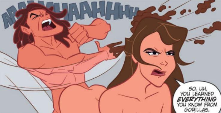 Tarzan is WILD