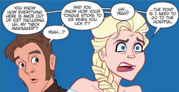 Elsa is in Trouble