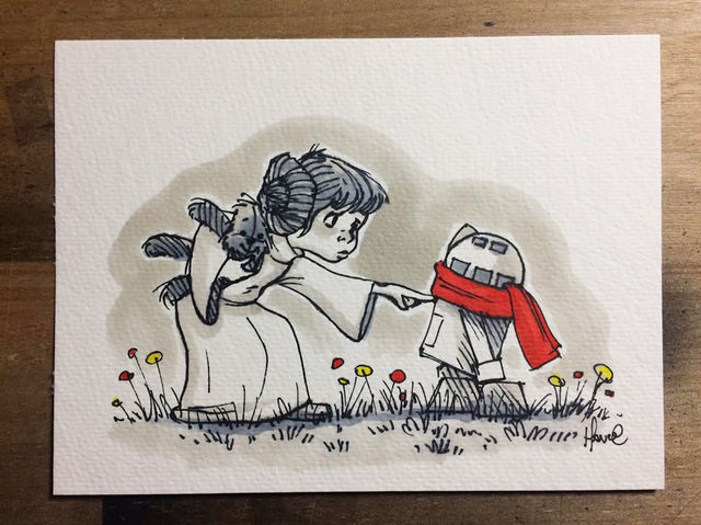 This Little Princess Leia is Just PERFECT
