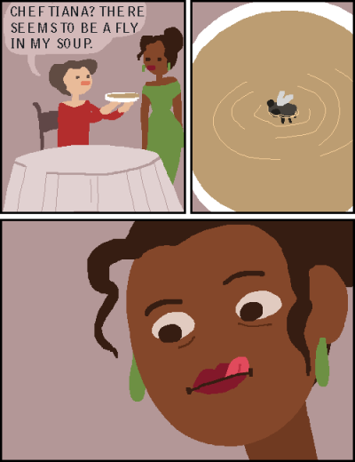 Hold it Right There Tiana