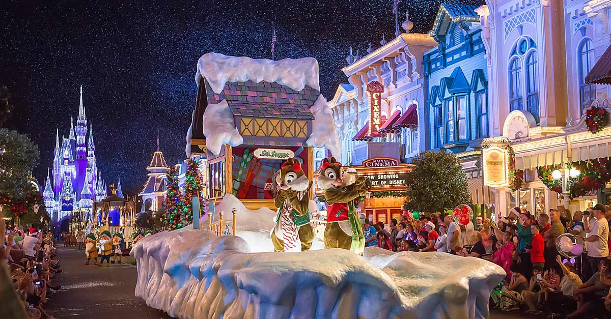 Celebrate one of the holidays at the Magic Kingdom
