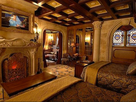 Stay in the Cinderella Castle suite