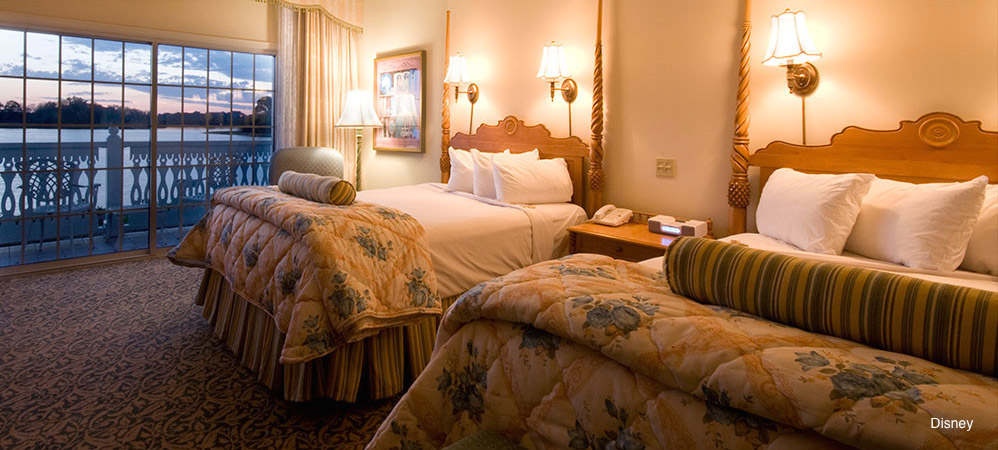 Rent a room at a deluxe resort
