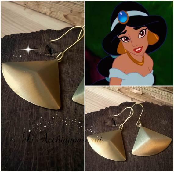 Princess Jasmine Earrings