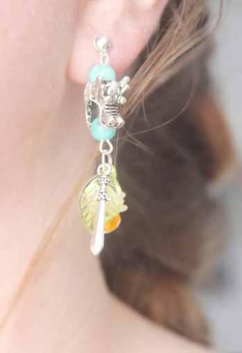 Mulan Dangle Earrings