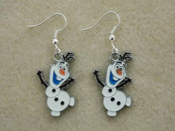 Frozen's Olaf Earrings