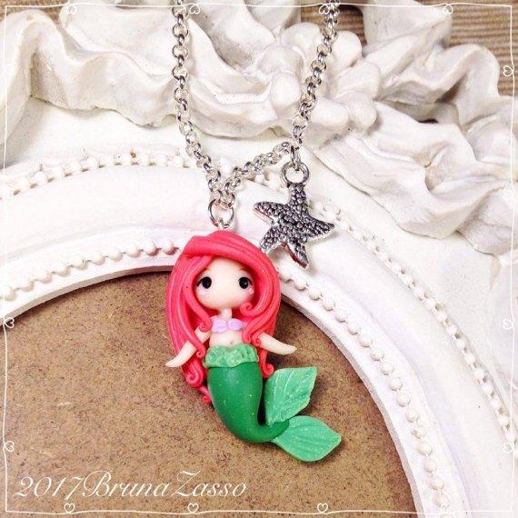Kawaii Ariel Little Mermaid Earrings