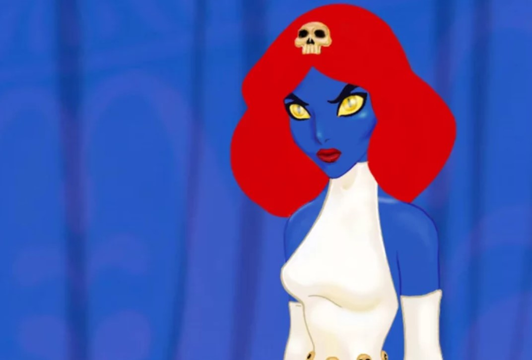Jasmine as Mystique