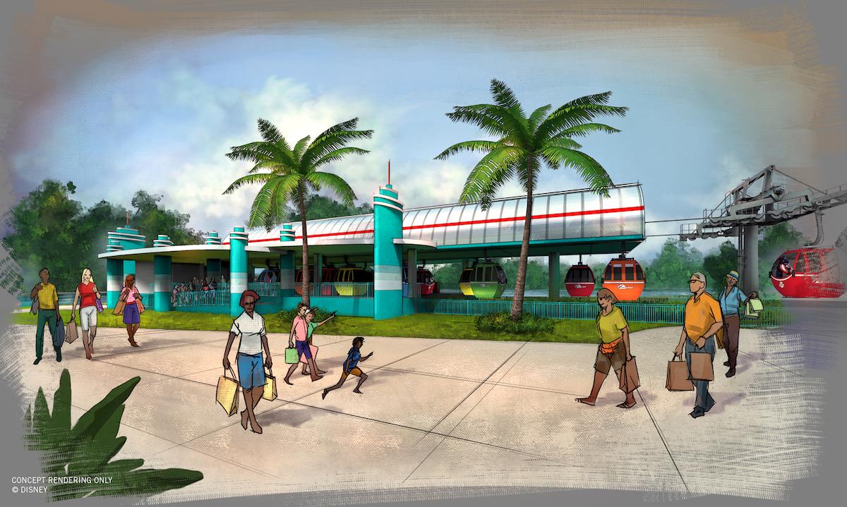 Guests travelingto Disney's Hollywood studios