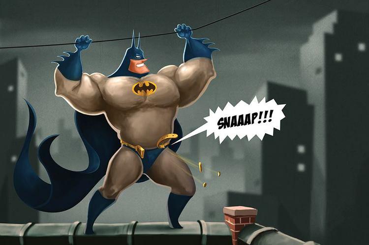 How did batman get so buff