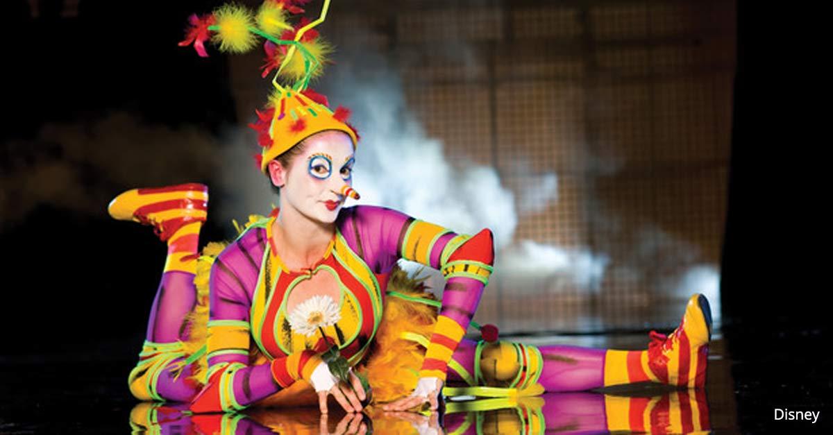 La Nouba by Cirque De Soleil