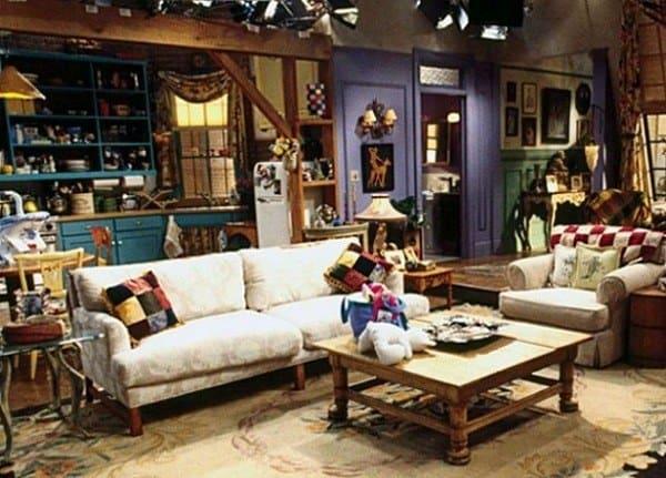 Rachel's apartment in Manhattan