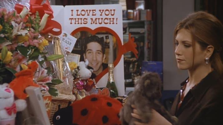 When Ross didn't trust Rachel AT ALL