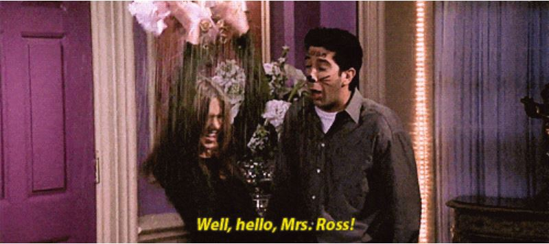 When Ross didn't want to tell Rachel