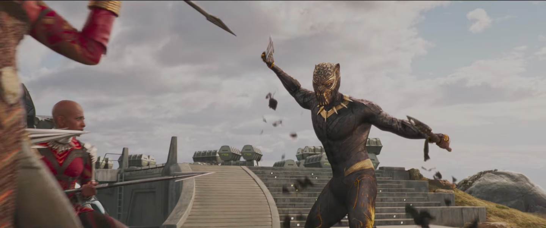 Erik Killmonger Looks Menacing