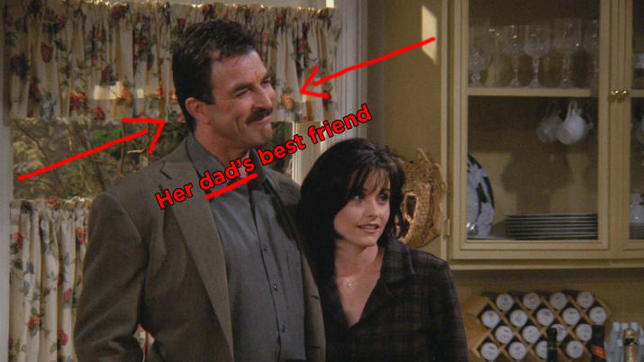The fact that Richard knew Monica