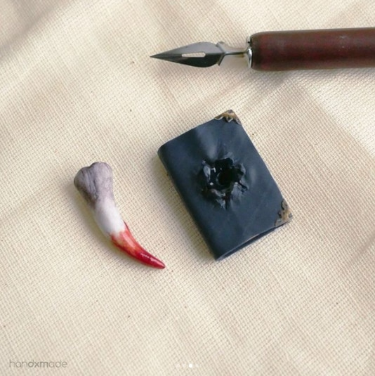 The Basilisk Fang and Tom Riddle's Diary