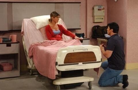 When Rachel assumed Joey was proposing to her