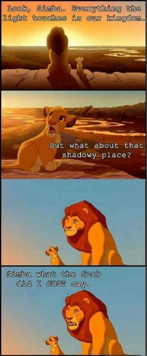 Simba Really Did Have a Listening Problem