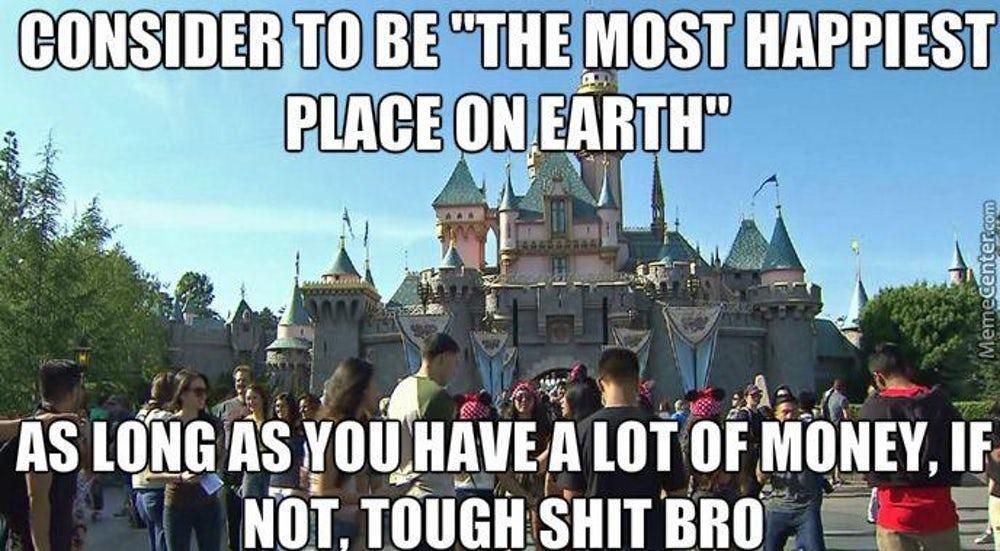 Disneyland is the Real Moolah