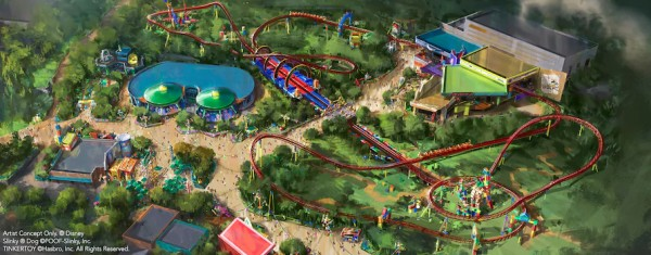 Toy Story Land - Opening This Summer