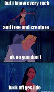 Let's Get Real Pocahontas