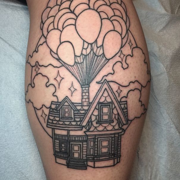 these 10 pixar inspired tattoo ideas will make you want to get inked nerdism. Black Bedroom Furniture Sets. Home Design Ideas