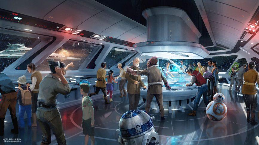 Immersive star wars