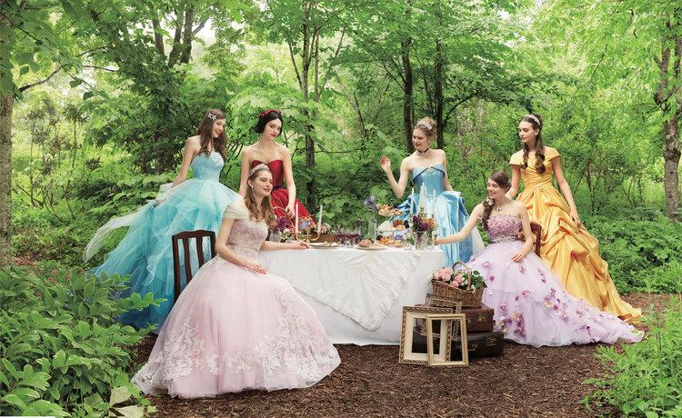 Disney has a bridal studio of their own