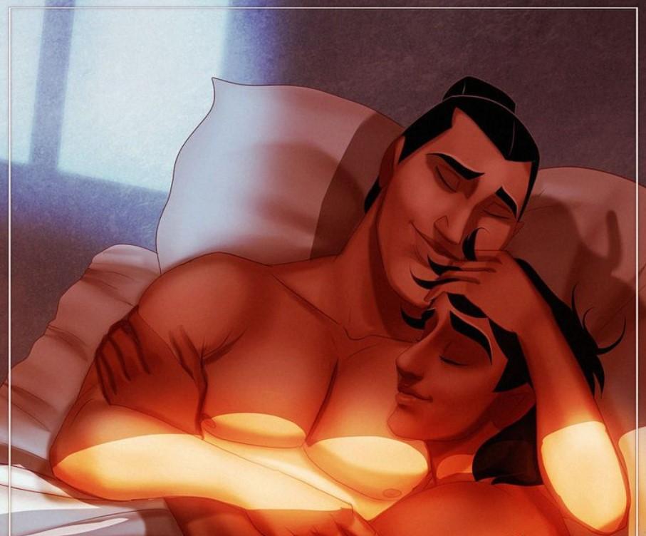 Aladdin and Li Shang