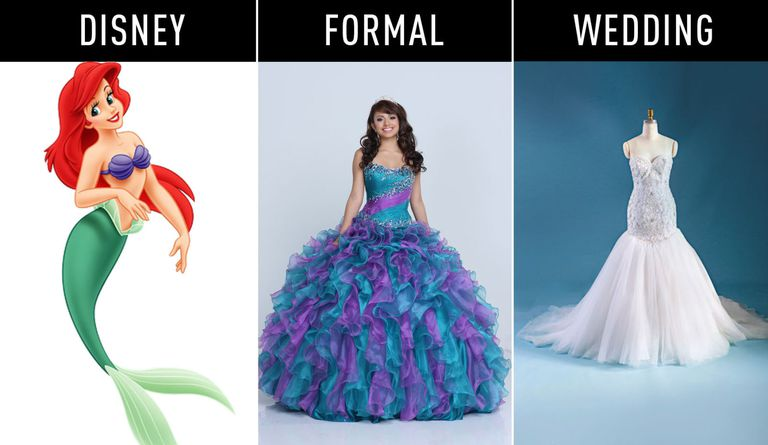 10+ Disney Inspired Princess Gowns For Every Important Occasion ...