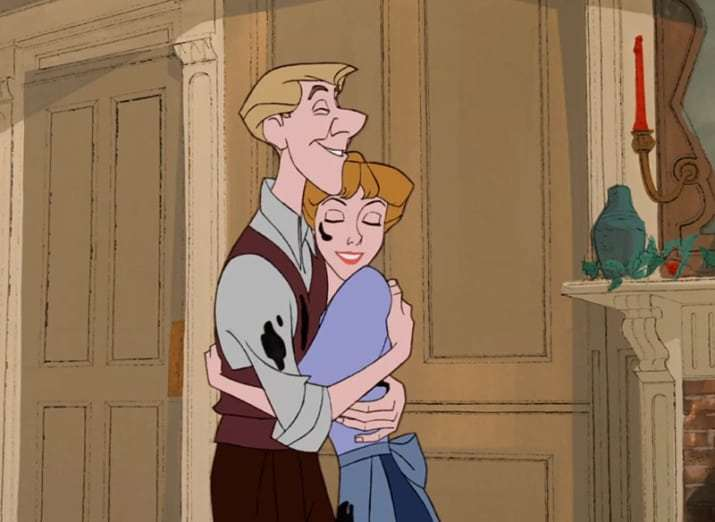 The only couple that matters is Roger and Anita from 101 Dalmatians