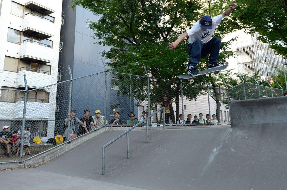 Skateboarding is not allowed