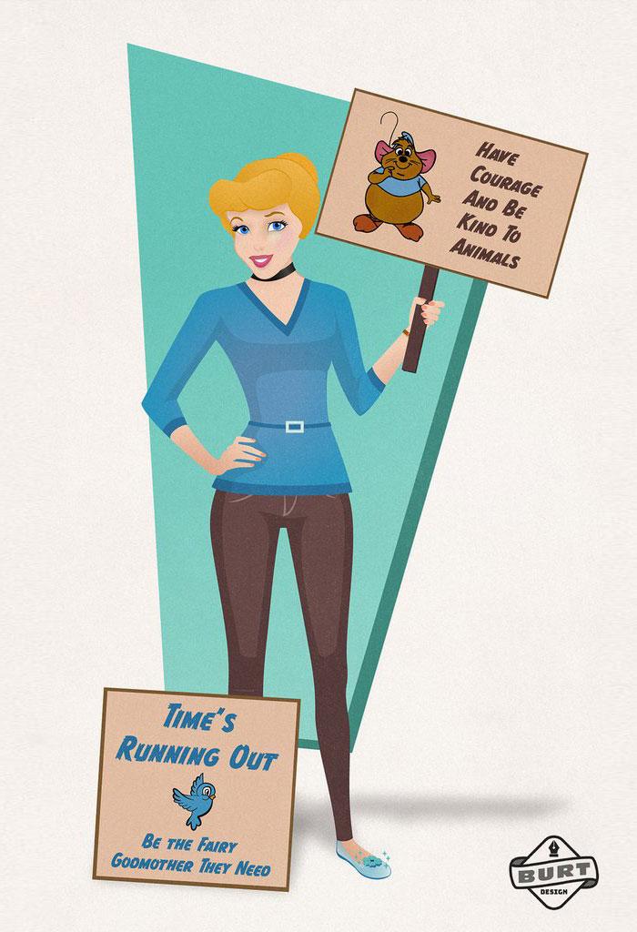 Cinderella: Animal Rights Activist