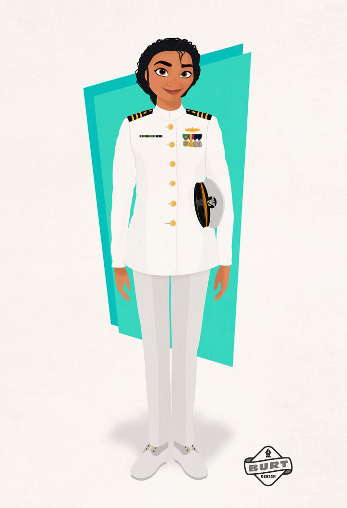Moana: Navy Officer