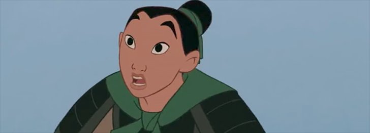 Mulan is THE best Disney princess