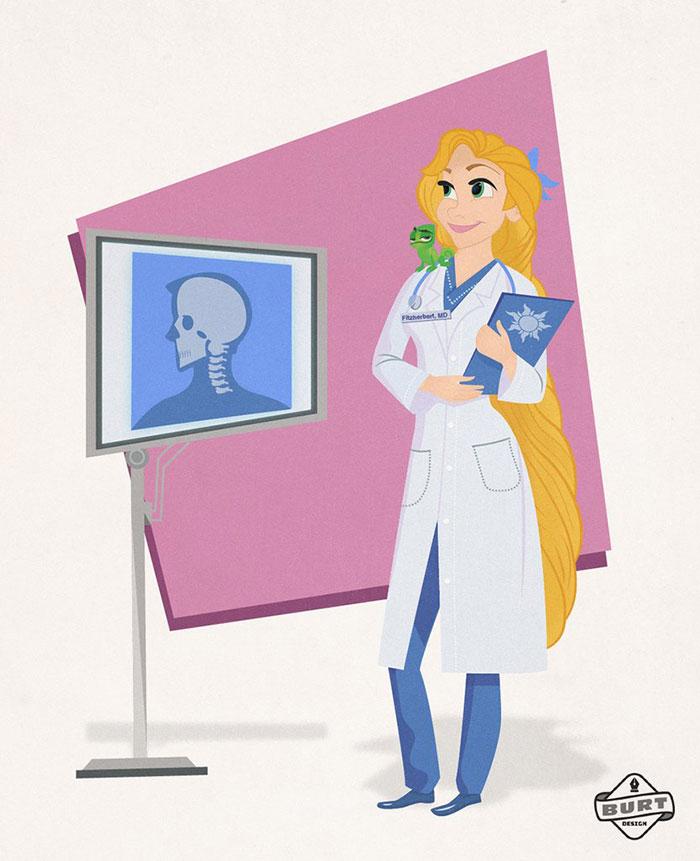 Rapunzel: Neurologist
