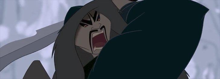 Shan Yu is truly terrifying