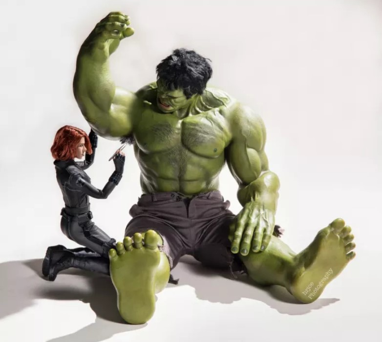 Even Green Hulk needs some manscaping done