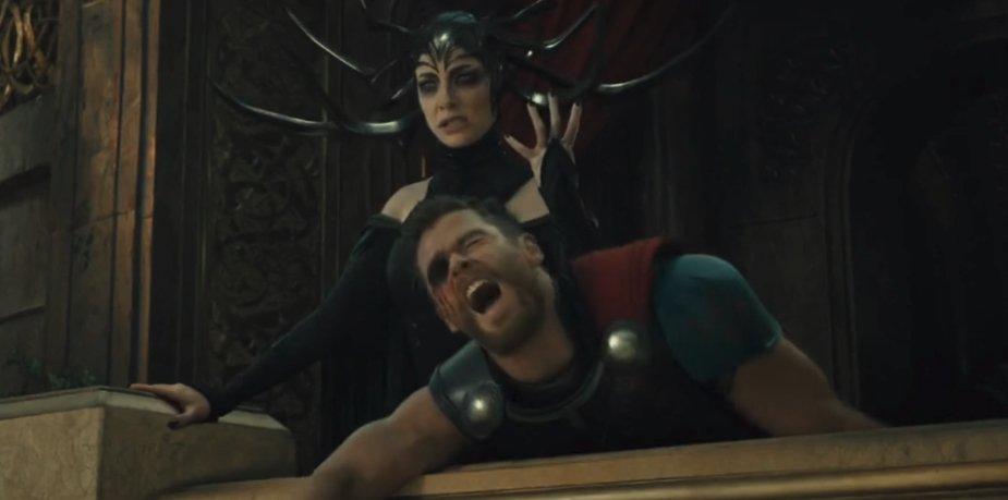 Thor's eye-gouging